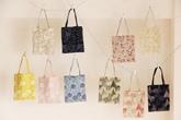 点と線模様製作所の 小さな刺繍バッグ  (倉敷意匠×点と線模様製作所)