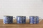 藍葉 マグカップ(九谷青窯×小林巧征)