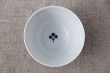 輪花つなぎ 飯碗 (九谷青窯・徳永遊心)