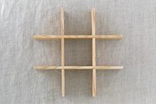 白木塗重箱(松屋漆器店)
