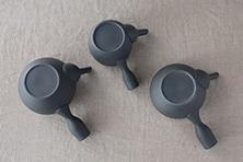 ベンリー急須/黒くすべ(南景製陶園)