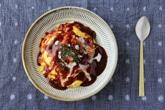 平皿(小鹿田焼)
