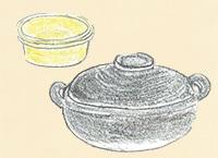耐熱陶器/土鍋