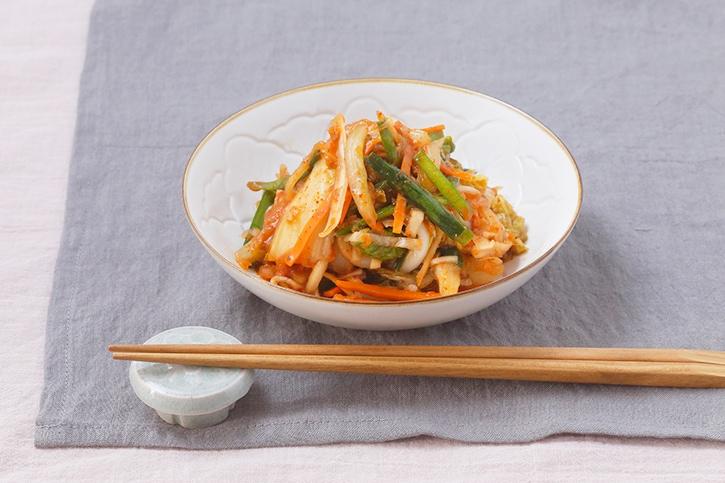白菜の即席キムチ