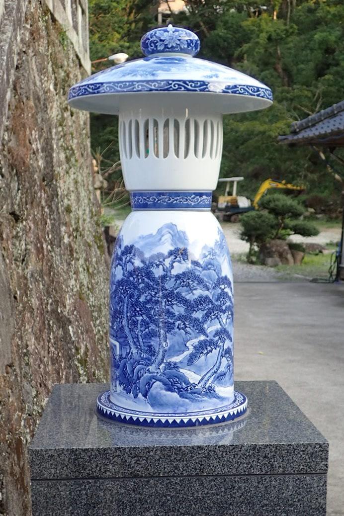 陶山神社の燈篭
