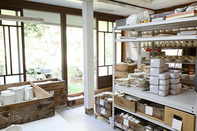 今村製陶の工房