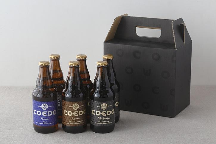 COEDOビール6本セット