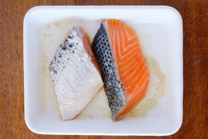 鮭を下味に漬け込むポイント