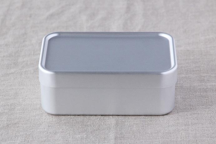 アルミ弁当箱 深型S (大一アルミニウム製作所)