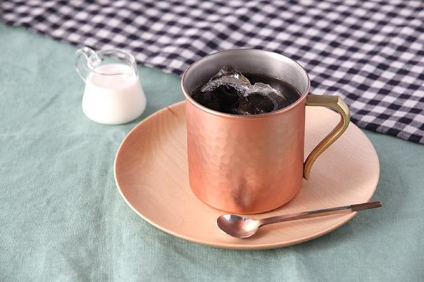 純銅ニュースペシャルマグ・純銅ビアカップ (アサヒ)