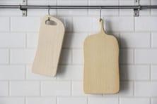 いちょうの木のまな板 (woodpecker)