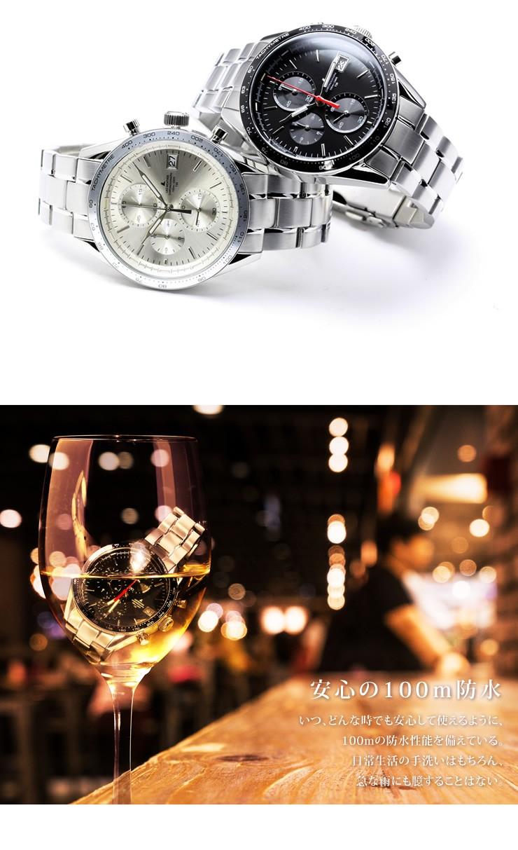 ラドウェザー LAD WEATHER トリチウムマスター4 ブランド 腕時計 レーシング クロノグラフ ウォッチ 時計 ミリタリーウォッチ 男性用 メンズ タキメーター デイトカレンダー 日付 100m防水 ステンレス メタルベルト