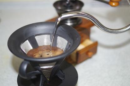 コーヒーを淹れるために必要な道具一式