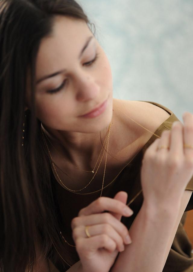 ネックレスの扱い方画像