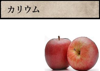 カリウムりんごの2倍