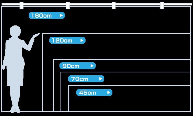 紅白幕 サイズ表