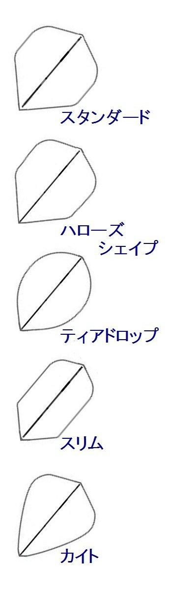 フライトの形状
