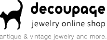 decoupage jewerly online shop