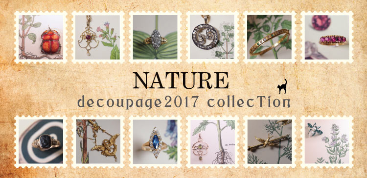 NATURE decoupage 2017 collection