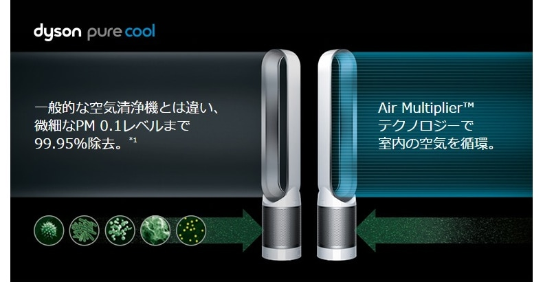 AM11 Dyson Pure Cool 空気清浄機付ファン