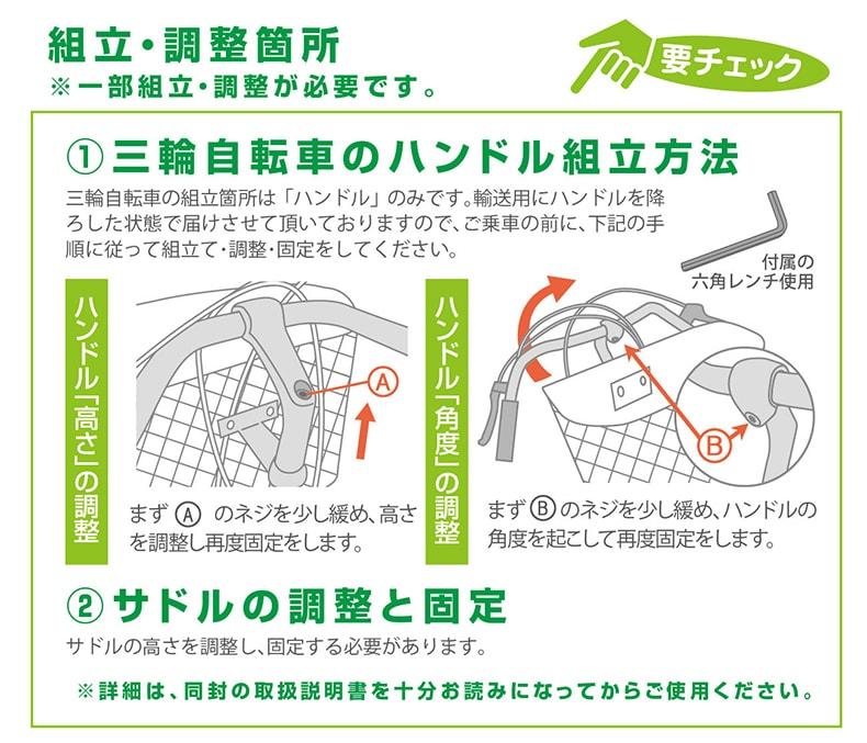 MG-TRM20EB 組立・調整箇所