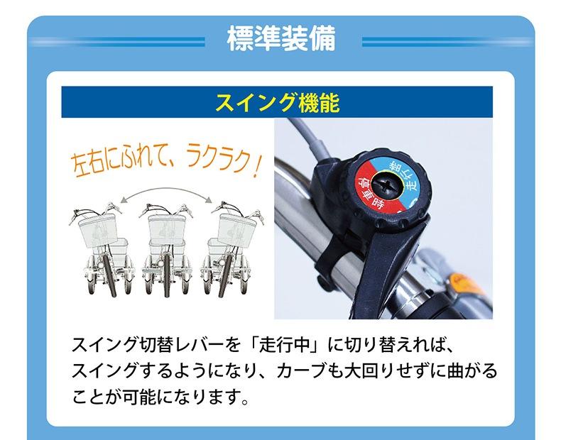 MG-TRE20E スイング機能