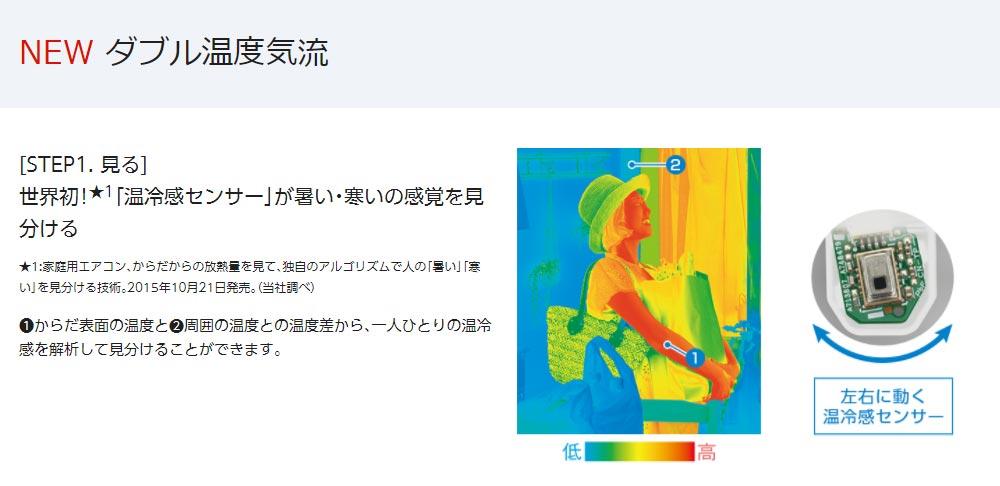世界初!「温冷感センサー」が暑い・寒いの感覚を見分ける