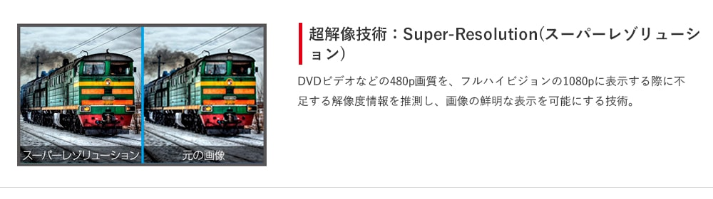 超解像技術:Super-Resolution(スーパーレゾリューション)