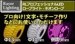 プロ向け RLプロフェッショナルLED ロープライト