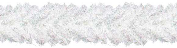 180cmオーロラミックスガーランドホワイトオーロラ