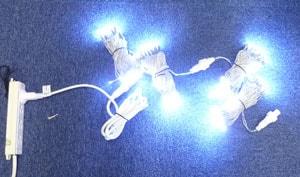 電飾の点灯チェック