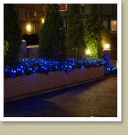 クリスマスイルミネーション施工写真-六本木マンション3