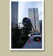 クリスマスイルミネーション施工写真-東雲マンション3