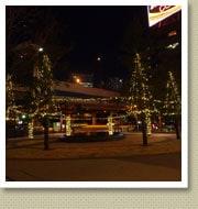 イルミネーション施工例-浜松町ショッピングビル3