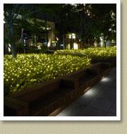 イルミネーション施工例-浜松町ショッピングビル4