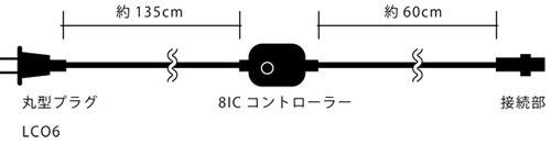 防雨型コロナLEDルミネチューブ専用小コントローラー