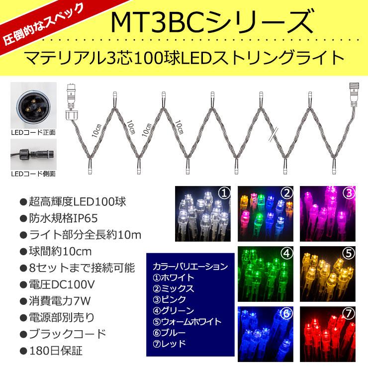 マテリアル3芯ストリングライト