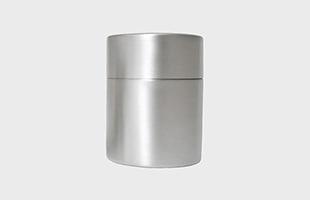 東屋 茶筒 大 銅 錫めっき