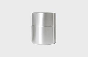 東屋 茶筒 中 銅 錫めっき