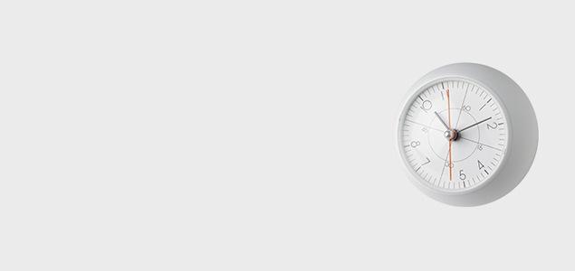 レムノス 置き時計 アナログ earth clock アースクロック 五十嵐威暢 タカタレムノス lemnos 置き時計 おしゃれ 北欧 アナログ リビング テーブルクロック