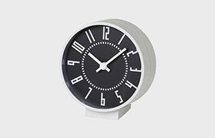 eki clock small TIL19-08 BK