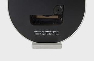 eki clock small TIL19-08 背面の見たイメージ