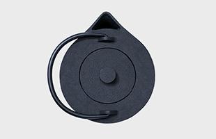 iwatemo ハッリ・コスキネン 鉄瓶 iron kettle KN-0401HK 上から見たイメージ