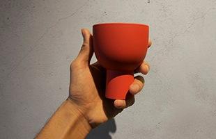 木村 浩一郎 art・craft アート・クラフト cup115は手のひらに収まるサイズ感です