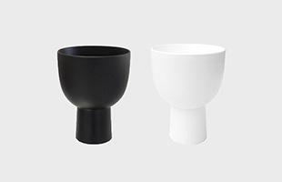 木村 浩一郎 art・craft アート・クラフト cup115 ペアセット マットブラック+マットホワイト