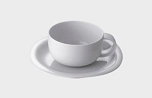 Rosenthal ローゼンタール スオミ ホワイト ティーカップ&ソーサー