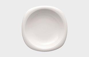 Rosenthal ローゼンタール スオミ ホワイト フカザラ23cm