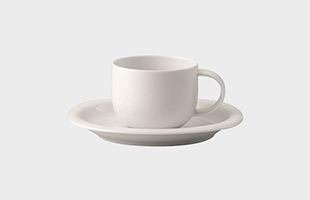 Rosenthal ローゼンタール スオミ ホワイト コーヒーカップ&ソーサー