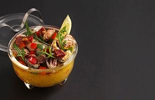 容量の大きなNo.3は、パスタやグラタンなどのオーブン料理やメインディッシュにもお使い頂けます