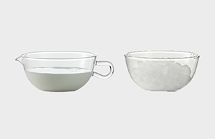 JENAER GLAS イエナグラス SUGAR BOWL & CREAMER